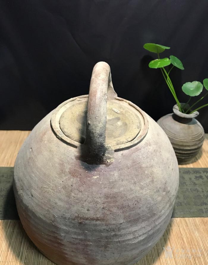 清代大茶壶,煮茶佳器,盖后配图4