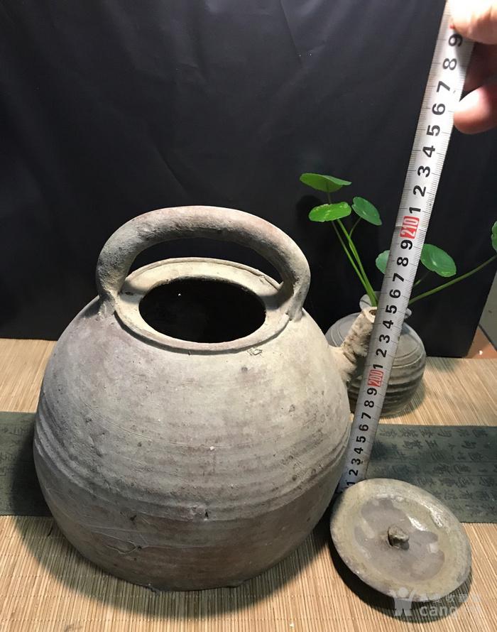 清代大茶壶,煮茶佳器,盖后配图7