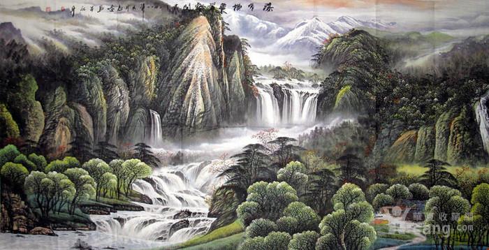 李志远・大八尺山水图1