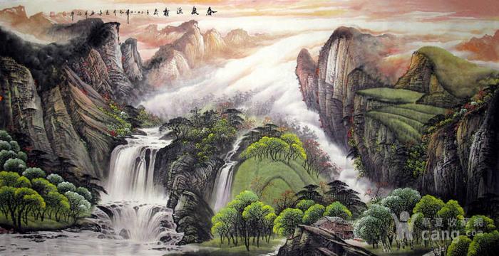 李志远・大八尺山水图7