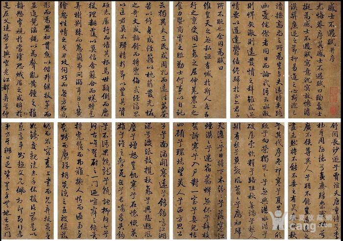 清代-张照-书法册图3
