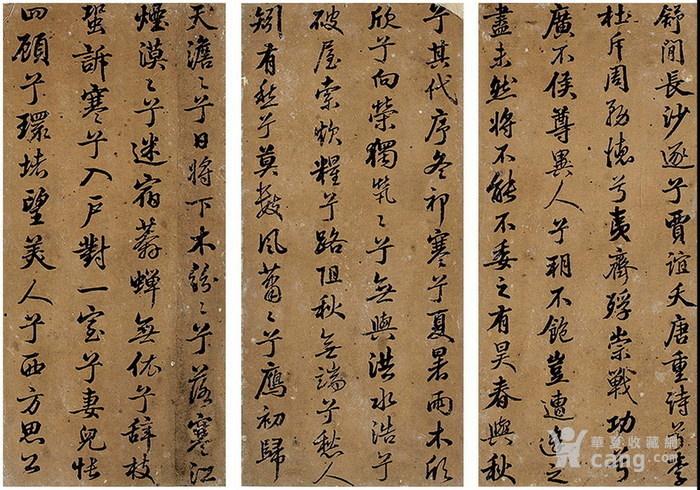 清代-张照-书法册图7