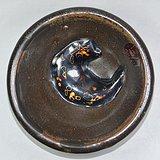 宋代建窑茶叶末小建盏(径9厘米)