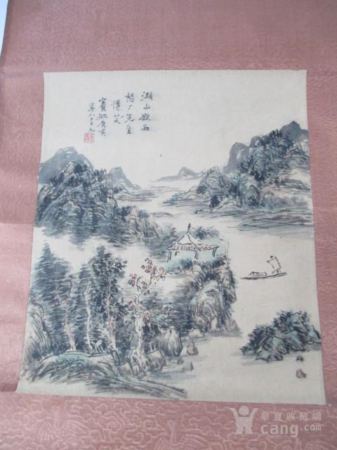 黄宾虹山水人物作品图2