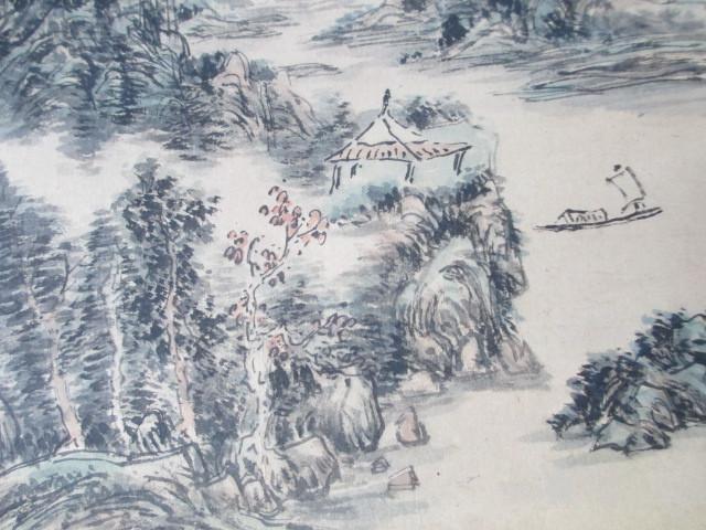 黄宾虹山水人物作品图3