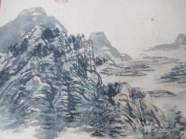 黄宾虹山水人物作品图5