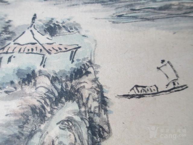 黄宾虹山水人物作品图6