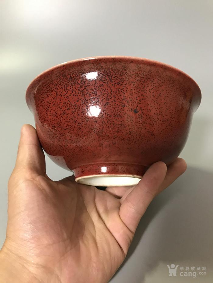 瓷器康熙祭红碗图4