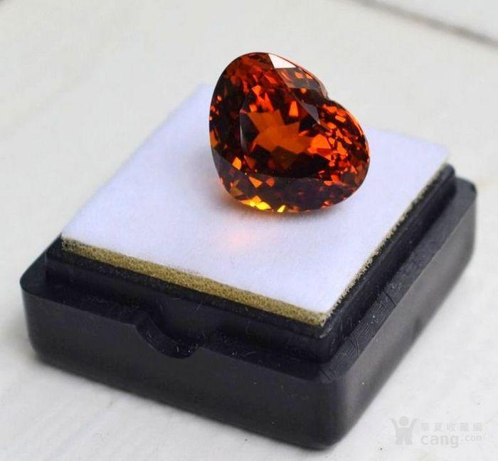 黄水晶 10.71克拉纯天然无加热巴西黄水晶 旺财石图1