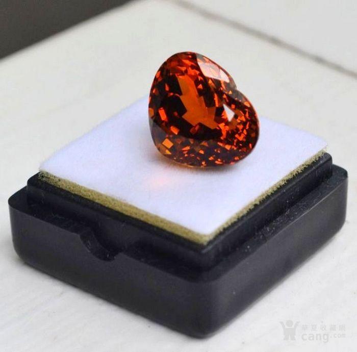 黄水晶 10.71克拉纯天然无加热巴西黄水晶 旺财石图2