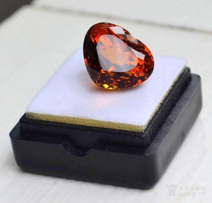 黄水晶 10.71克拉纯天然无加热巴西黄水晶 旺财石图3