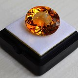 黄水晶 11.36克拉纯天然无加热巴西黄水晶 旺财石
