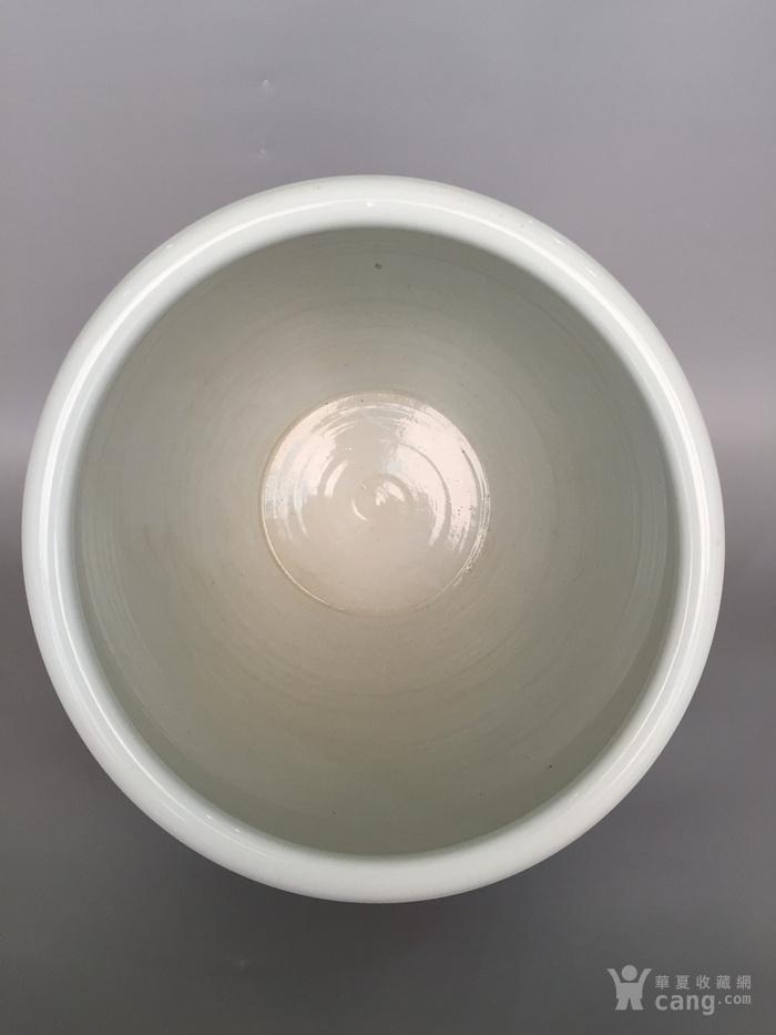 清三代鱼藻纹文房书画缸,高34.2cm,口径38.8cm图10