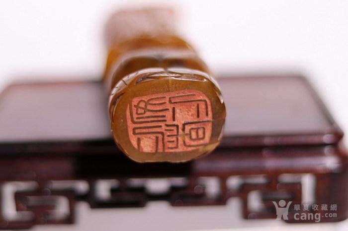 清代    寿山石巧雕观音摆件印章图8