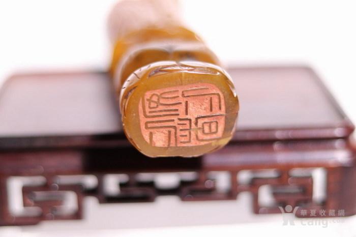 清代    寿山石巧雕观音摆件印章图10