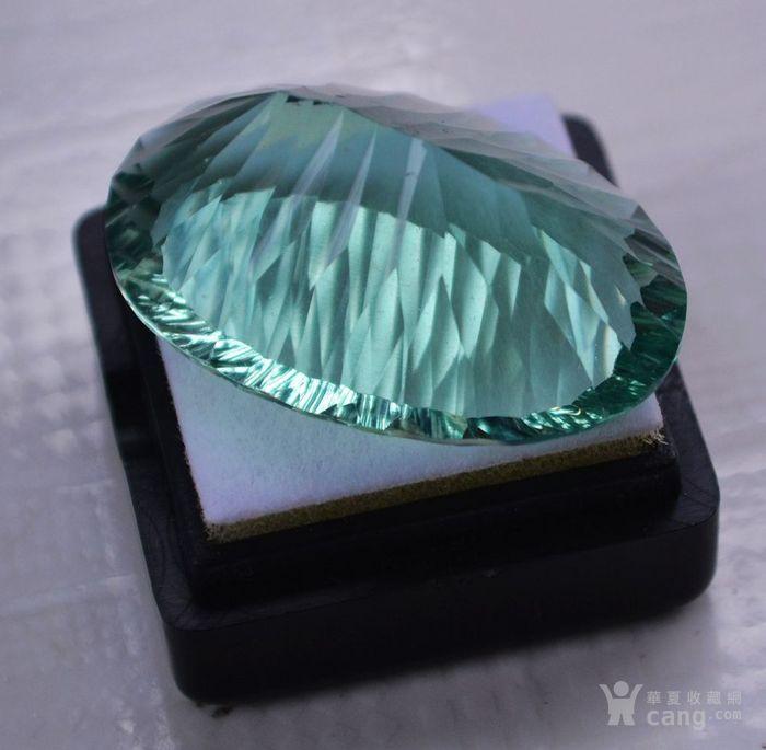 绿萤石 巴西纯天然绿萤石59.64克拉图4