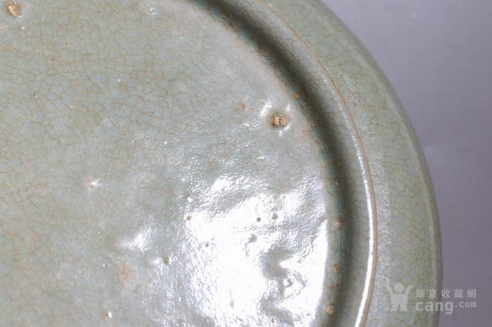 汝窑坑口月牙盘图8