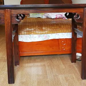 近代   黄花梨明式勾纹画桌
