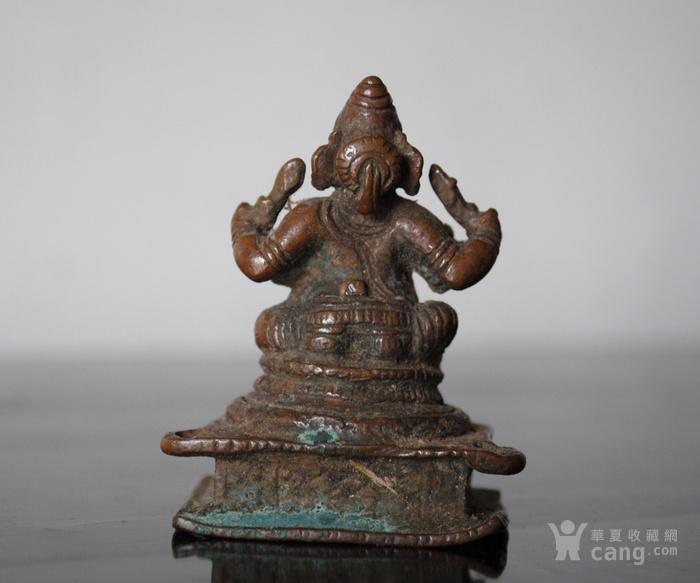 四尊17 18世纪印度小铜雕像图9