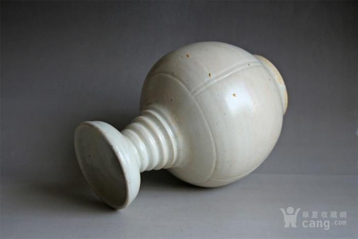 宋将乐窑青白釉盘口瓶图4