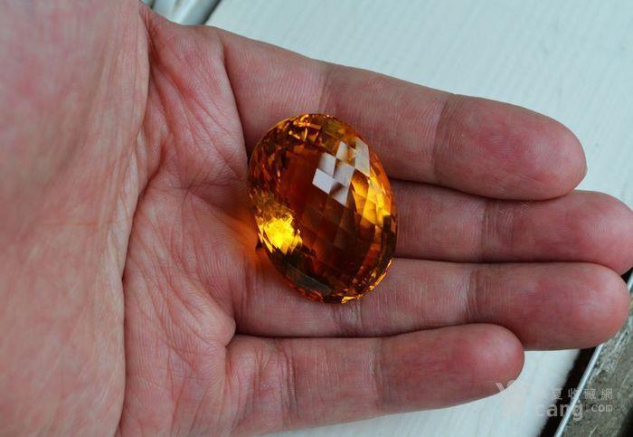 黄水晶 108.88克拉纯天然无加热巴西黄水晶 旺财石图8
