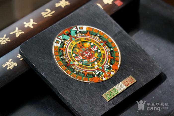 墨西哥阿兹特克的太阳石 历法石 图1