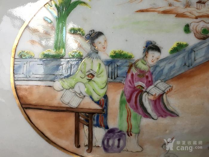 清嘉庆广彩外销大盖碗 修复,缺盖图7
