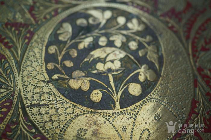 手工精錾纯铜大盘2个图7