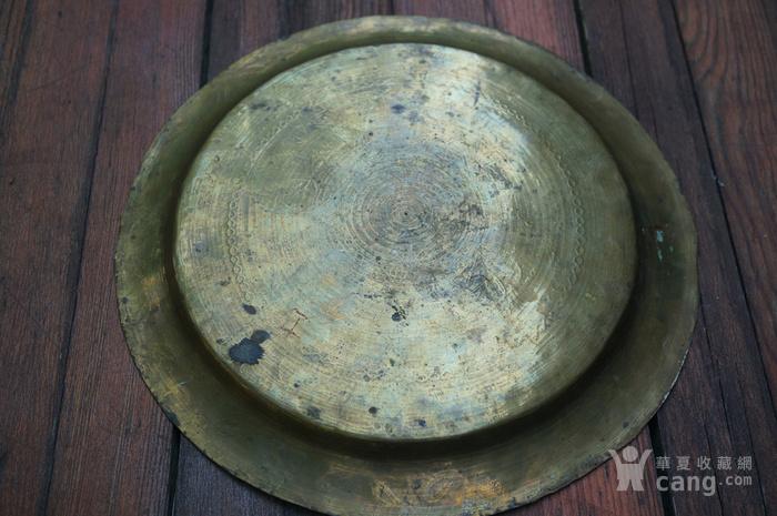 手工精錾纯铜大盘2个图8