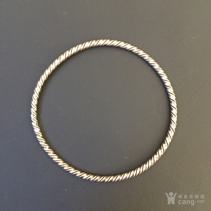 欧式老银镯图2