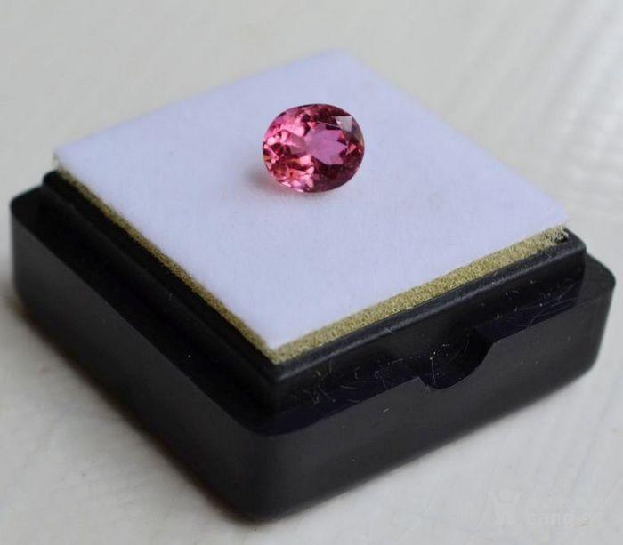 粉红色碧玺 莫桑比克纯天然粉红色碧玺1.09克拉图3