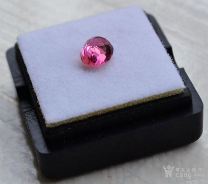 粉红色碧玺 莫桑比克纯天然粉红色碧玺1.09克拉图5