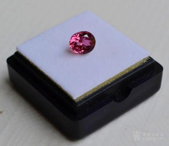 粉红色碧玺 莫桑比克纯天然粉红色碧玺1.09克拉图4