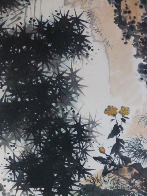 潘天寿鹰作品图5