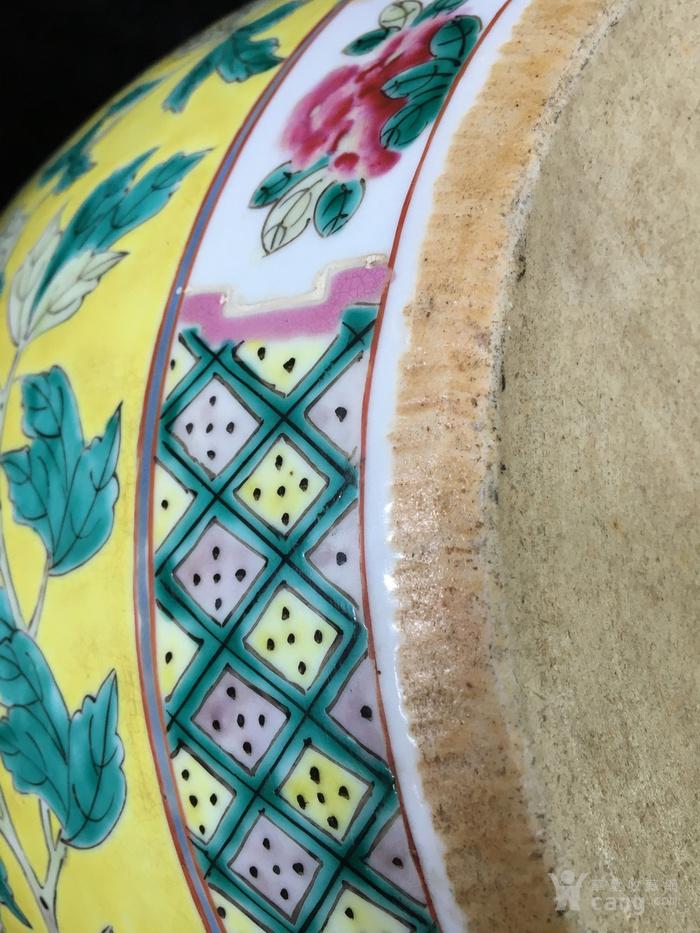 清光绪粉彩龙穿花卉纹超大件缸电话一八八一一一二二二一五图9