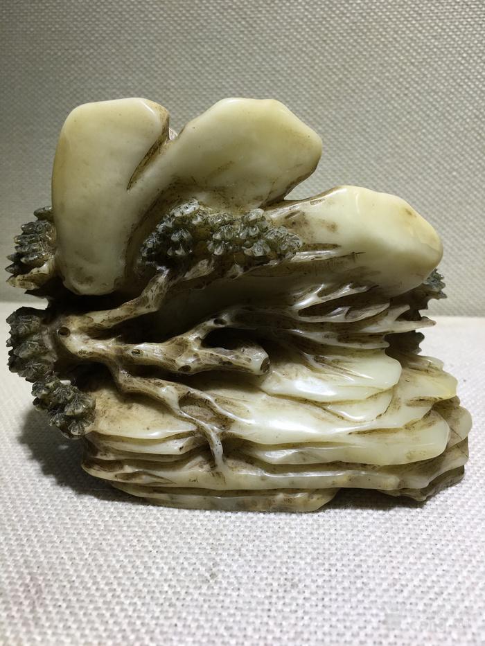 精品寿山石摆件高14厘米,直径12厘米两节喜欢的询价图10