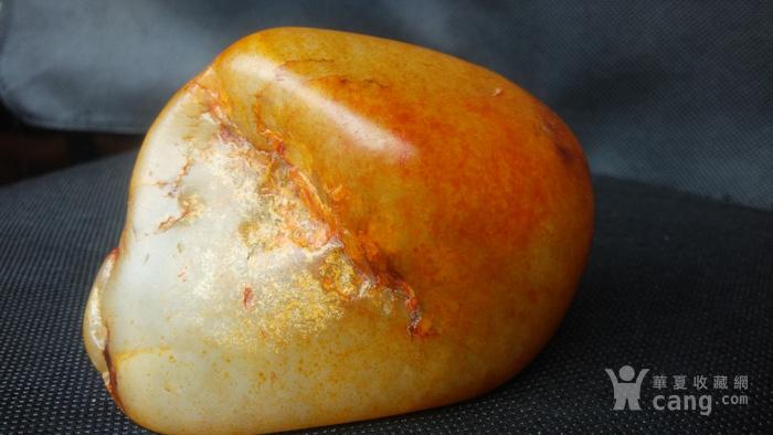 新疆和田撒金皮籽料羊脂白玉图4