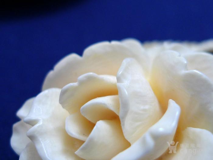精 超大德国埃尔巴赫玫瑰雕挂件图3