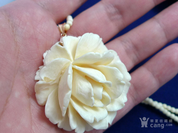 精 超大德国埃尔巴赫玫瑰雕挂件图7