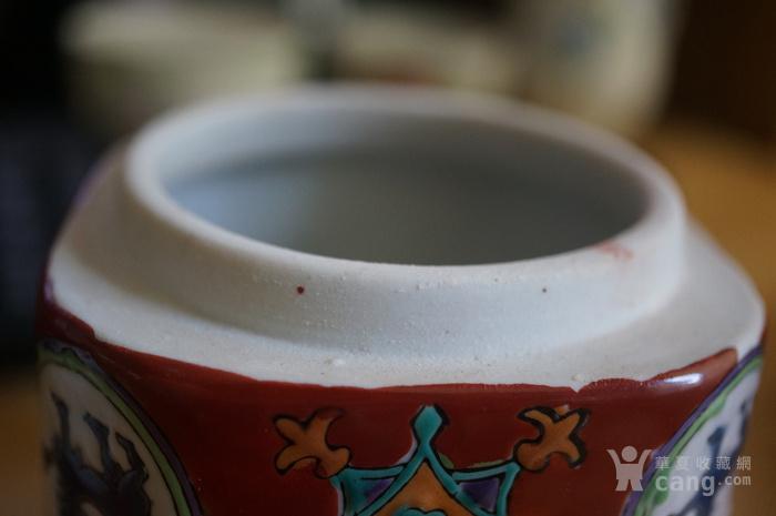 回流晚清民国粉彩茶叶罐全品图9
