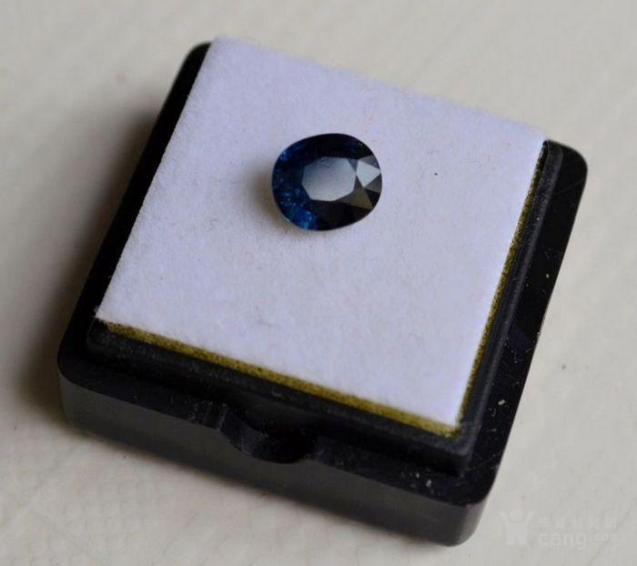 蓝宝石 斯里兰卡纯天然椭圆型1.56克拉蓝宝石图4