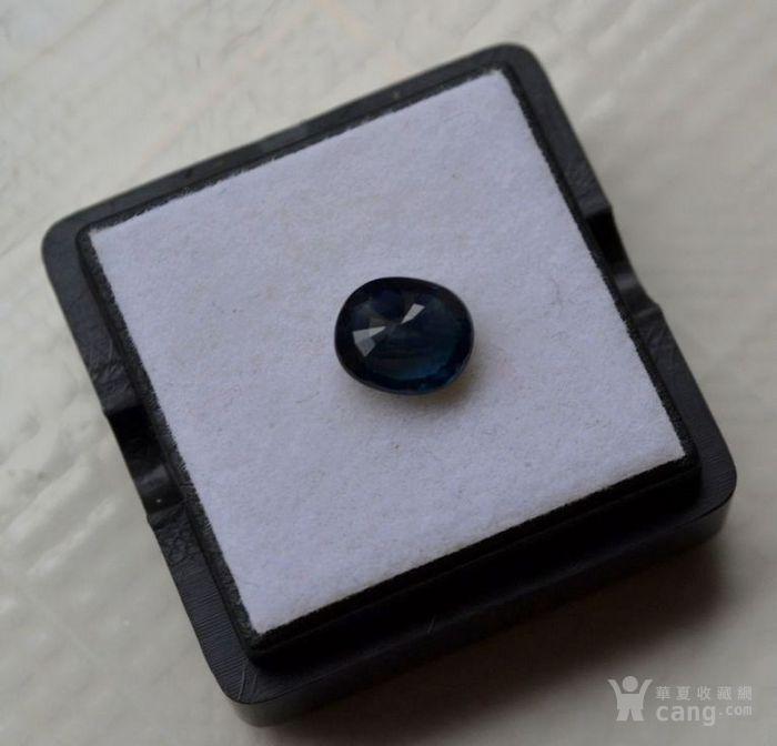 蓝宝石 斯里兰卡纯天然椭圆型1.56克拉蓝宝石图3
