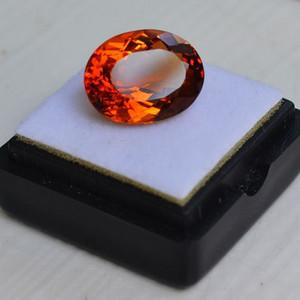 黄水晶 7.60克拉纯天然无加热巴西黄水晶 旺财石