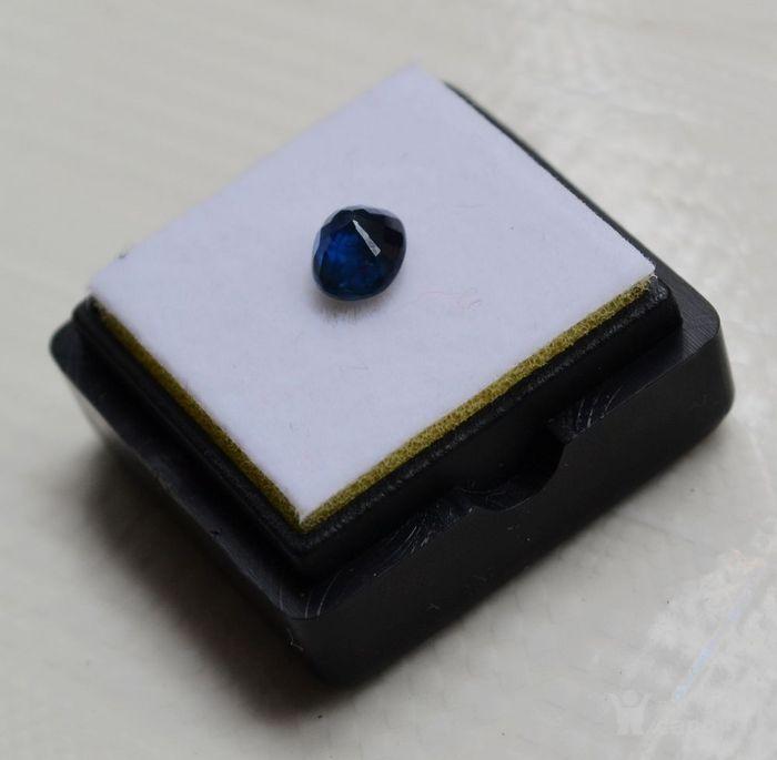 蓝宝石 斯里兰卡纯天然椭圆型1.16克拉蓝宝石图4