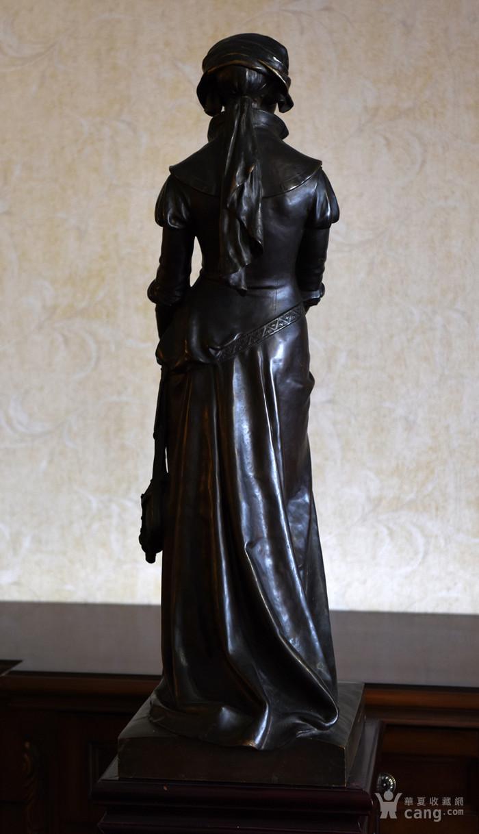 19世纪法国雕塑大师E.Aizelin大型杰作玛格丽特图5