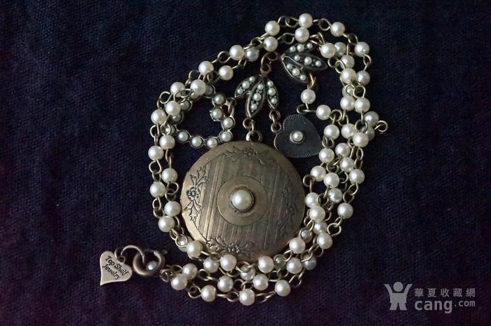 欧洲珍珠精美高雅项链图11