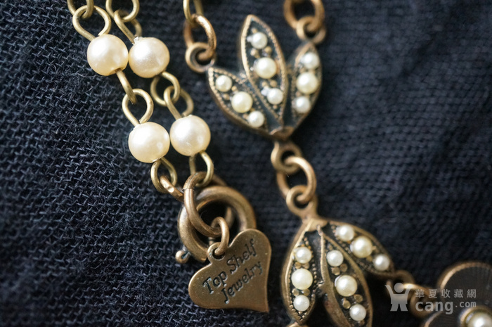欧洲珍珠精美高雅项链图9