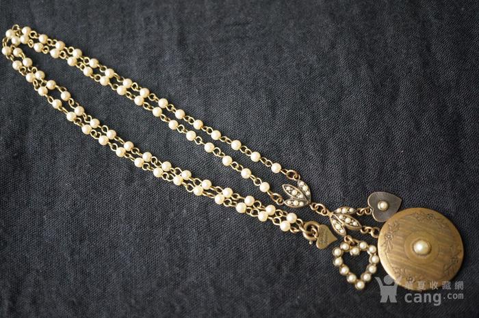 欧洲珍珠精美高雅项链图1