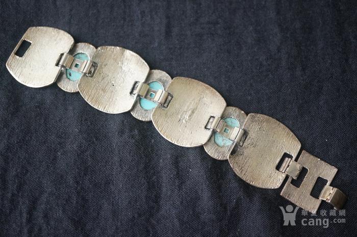 天然镶嵌大松石手链图2