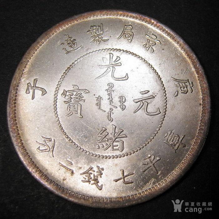 1900年北京京局制库平七钱二分银币图1